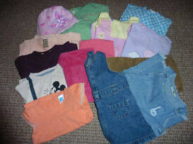 Bundle of clothes for baby girl 18-24 mths