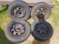 """13"""" steel wheels 4x100"""