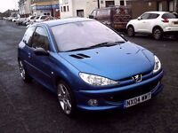 2004 04 PEUGEOT 206 2.0 GTI 180 BHP ** ONLY 42300 MILES ** STUNNING EXAMPLE **
