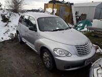 Chrysler pt cruiser long mot spares or repairs