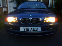 BMW 323 WITH 2 KEYS AND M.O.T! CHEAP QUICK SALE!