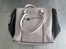 Guess Handbag - Cream Black