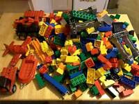 Duplicate Lego and Compatible Bricks, Large Assortment