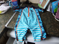Age 2-3 Year All In One Swimsuit