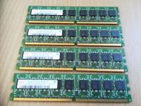 HP 1GB RAM, 2RX8 (X4)