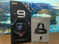 Brand New GoPro Hero 9 5k camera bundle