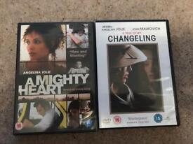 Angelina jolie films - a mighty heart and changeling