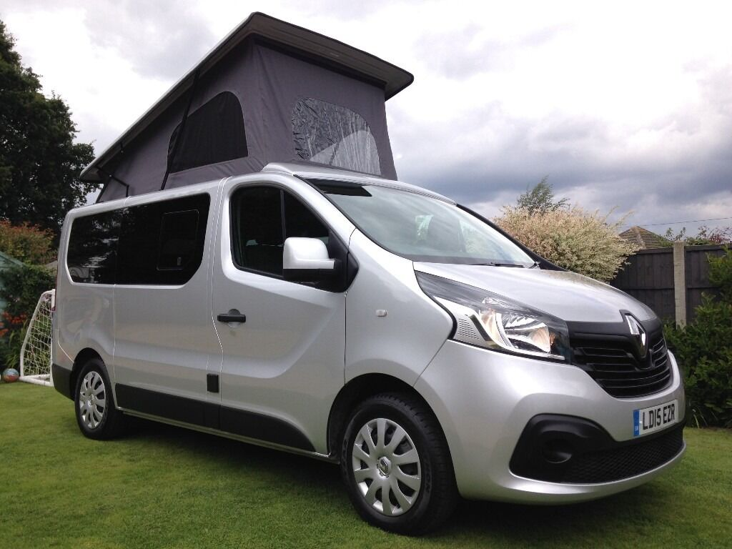 renault traffic reimo camper van 2015 high spec 47 mpg 9900 miles like vw transporter but better. Black Bedroom Furniture Sets. Home Design Ideas