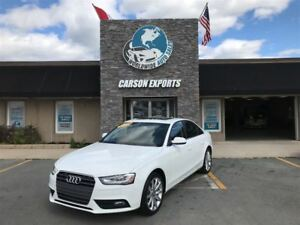 2014 Audi A4 WON'T LAST A4 KOMFORT! FINANCING AVAILABLE!