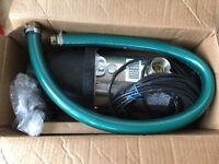 Steel Pumps Clean Water Centrifugal Water Pump for Garden/Portable Use 0.8hp motor Brand New/unused
