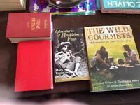 Job lot of 6 books