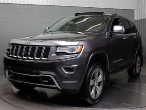 2015 Jeep Grand Cherokee OVERLAND 4WD DIESEL AC MAGS TOIT PANO C