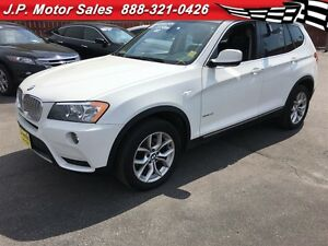 2011 BMW X3 28i, Automatic, Navigation, Panoramic Sunroof, AWD