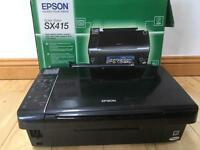 Epson Sylus SX415 printer / scanner / copier with LCD viewer.