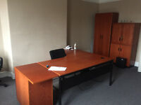 First floor furnished office available