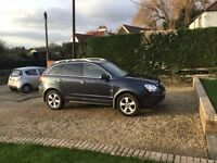 vauxhall Antara 2.0 4x4 diesel 2008 blue 1 years mot interior air con heated seats upgraded stereo