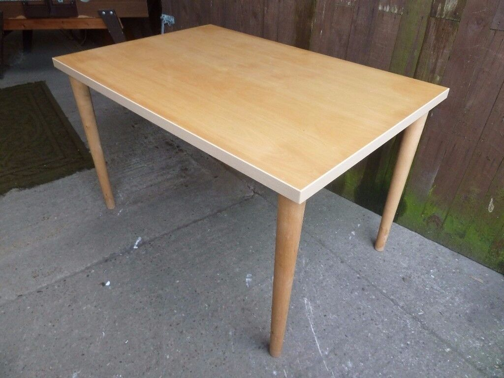 Square Beach topped Dining Table Delivery Available