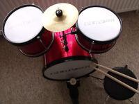 Junior Drum Kit Set by PLAYON