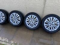 Corsa D 16 inch alloy wheels