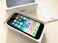 Excellent iPhone 7 Matt Black Factory Unlocked