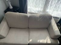 Dfs 2seater sofa bed grey