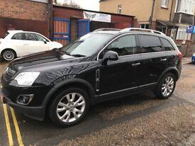 2013 Vauxhall Antara Diesel Automatic Individual Brown Leather Satnav Black Long MOT, FINANCE
