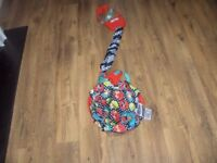 bright starts safari baby door bouncer good condition.