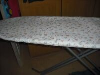 NICE CLEAN IRONING BOARD WITH NEW COVER