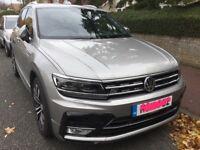 VW Tiguan R Line 2017 2.0 Diesel 4Motion