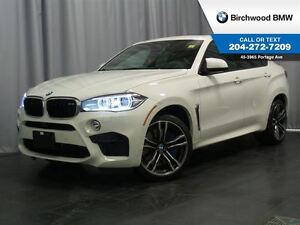 2015 BMW X6 M AWD 4dr Premium Package! NO ACCIDENT!