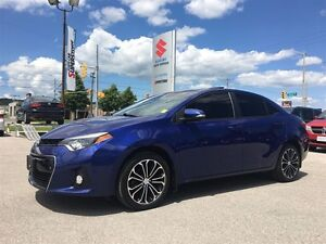 2014 Toyota Corolla S ~Nav ~P/H/Leather ~P/Roof ~Rearview Camera