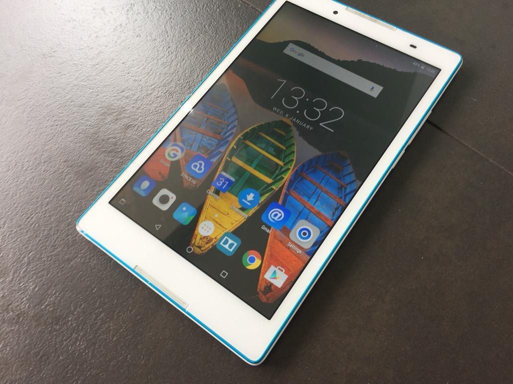 "Lenovo Tab 3 8"" Wifi Tablet white (kids mode feature too)"