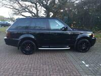 Range Rover Sport 2.7 d automatic 2008 black metallic
