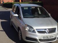 2006 06 Vauxhall Zafira 1.6 Petrol 7 Seater