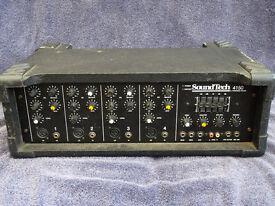 Soundtech 4150 - Powered Mixer - PA Amplifier - 150 watt , 4 Channel