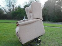 Sherborne Electric Full Riser And Recliner Mobility Chair--(Twin Motor)