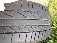 Bridgestone potenza runflat tyre 224/40r18