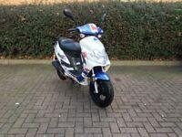 2015 Scooter Moped Only 2700 Miles, Like Honda Yamaha Suzuki PCX SH PES Fly Speedfight 50cc 125cc