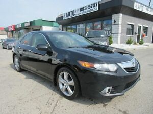 2012 Acura TSX Premium Group (Sunroof, Leather, Electric seats,