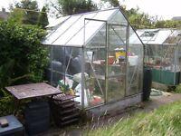 Aluminium greenhouse. number 1,