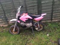 Pitbike 140 spares or repairs