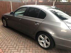 BMW 5 Series Diesel 2007 Full Leather, heated seats - Quick sale required