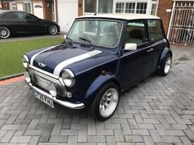 1999 Rover Mini Cooper Tahiti blue 47k with FSH