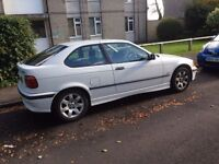 SPARES OR REPAIR bmw 316i compact for sale £500 or sensible offers