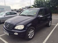 Mercedes ML 270 FOR SALE, no exchanges