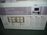 TV wall bracket for 24 to 32 inch TV, boxed with instructions