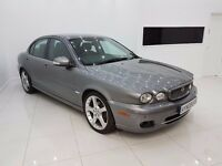 Jaguar X-Type 2.0 D SE-TOP SPEC-RED LEATHERS-12 MONTH MOT-12 MONTH WARRANTY-£0 DEPOSIT FINANCE