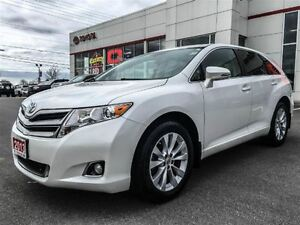 2013 Toyota Venza LEATHER+WHITE PEARL!