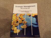 Strategic Management Textbook Sheffield Hallam University - Mark Ellis, Amanda Twiss Paperback
