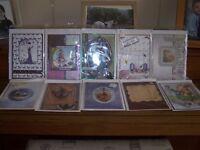 10 x handmade cards.